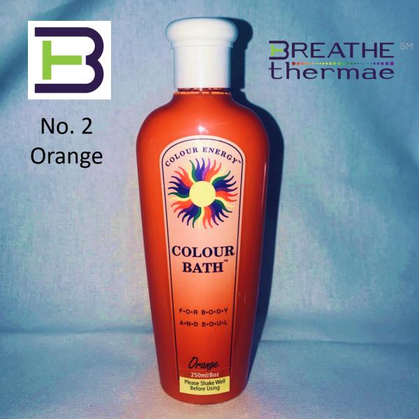 Colour Bath Orange